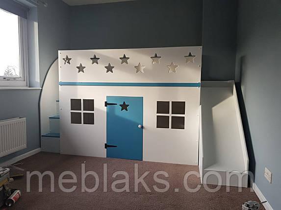 Детская двухъярусная кровать чердак ДКД 91, фото 2