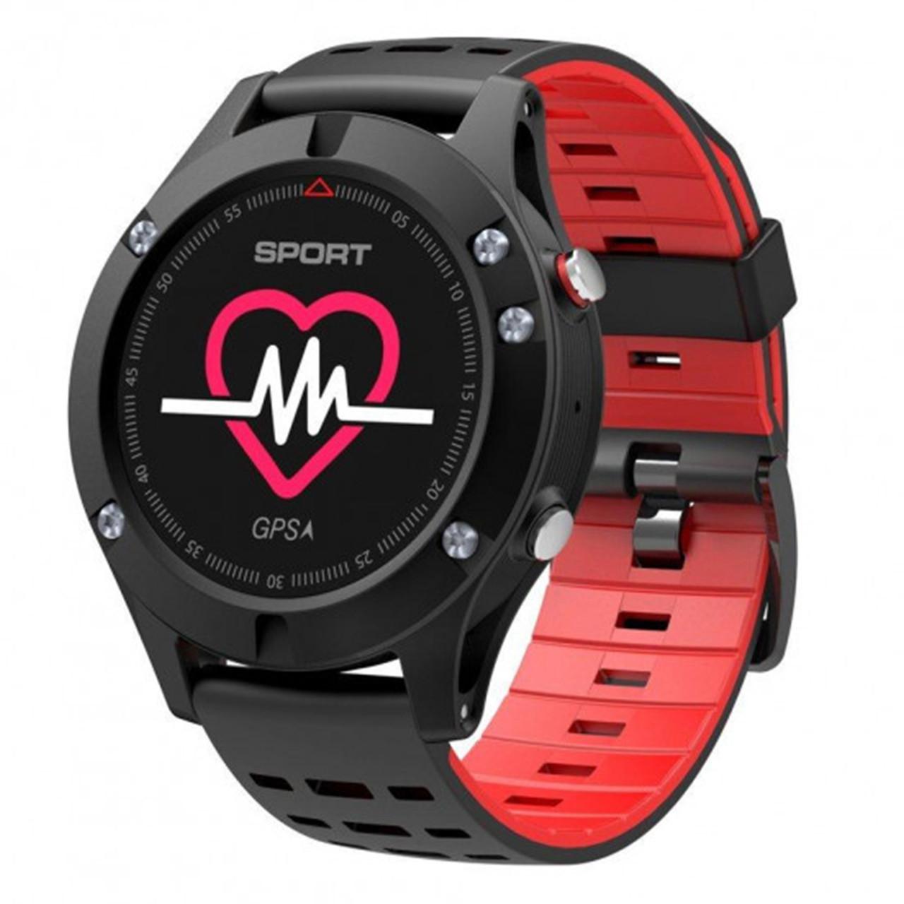 Мультиспортивные часы JETIX F5 с GPS трекером Black Red (2704977)