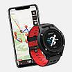 Мультиспортивные часы JETIX F5 с GPS трекером Black Red (2704977), фото 2