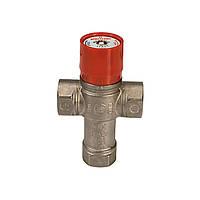 Термостатический смесительный клапан Giacomini для горячего водоснабжения 38-60 С 3/4