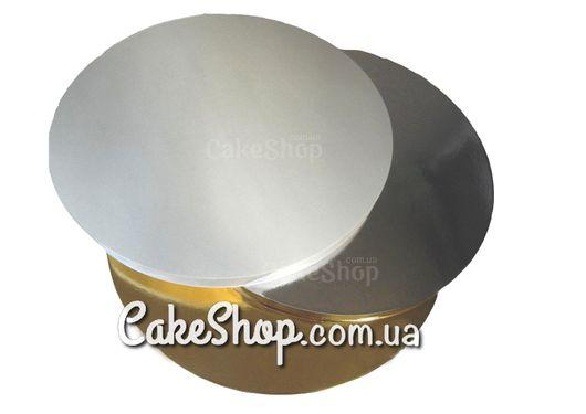 Подложка под торт усиленная круглая D 30 см Золото