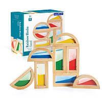 Набір стандартних блоків Guidecraft Block Play Кольоровий пісок (G3014)