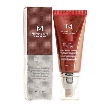 Тональный крем Missha M Perfect Cover BB Cream SPF42/PA+++ 23 (8806185793124)
