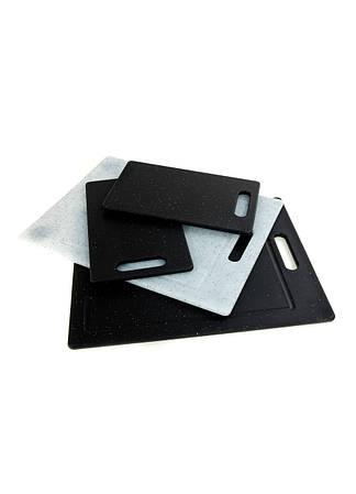Набор досок разделочных Ernesto  серый-черный K10-110982