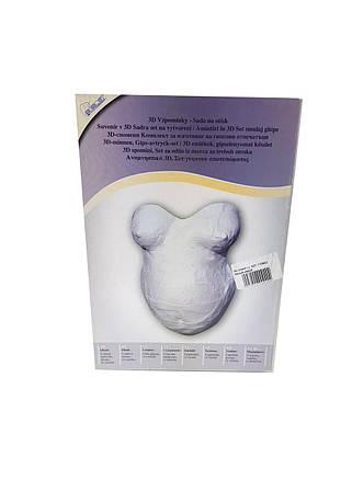 Гипсовая форма для беременных   белый-серый K01-110943