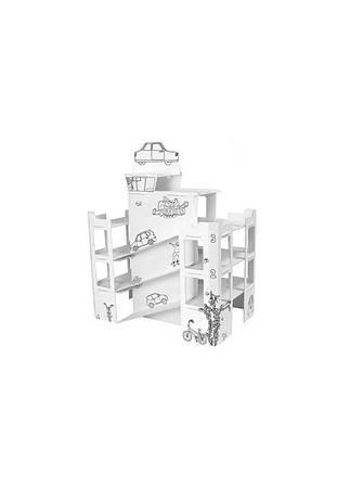 3D конструктор-расскраска   белый K10-550490