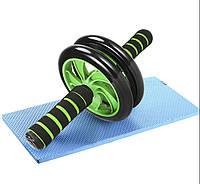 Колесо для преса і інших м'язів Double Wheel Abs health