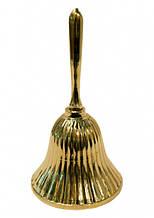 9370024 Колокольчик желтый метал Арт.25067