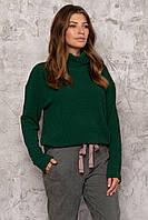 Свитер женский зеленый Nenka 3024-c04