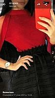 Женские стильные кофты с люрексом Разные цвета Рукав сетка