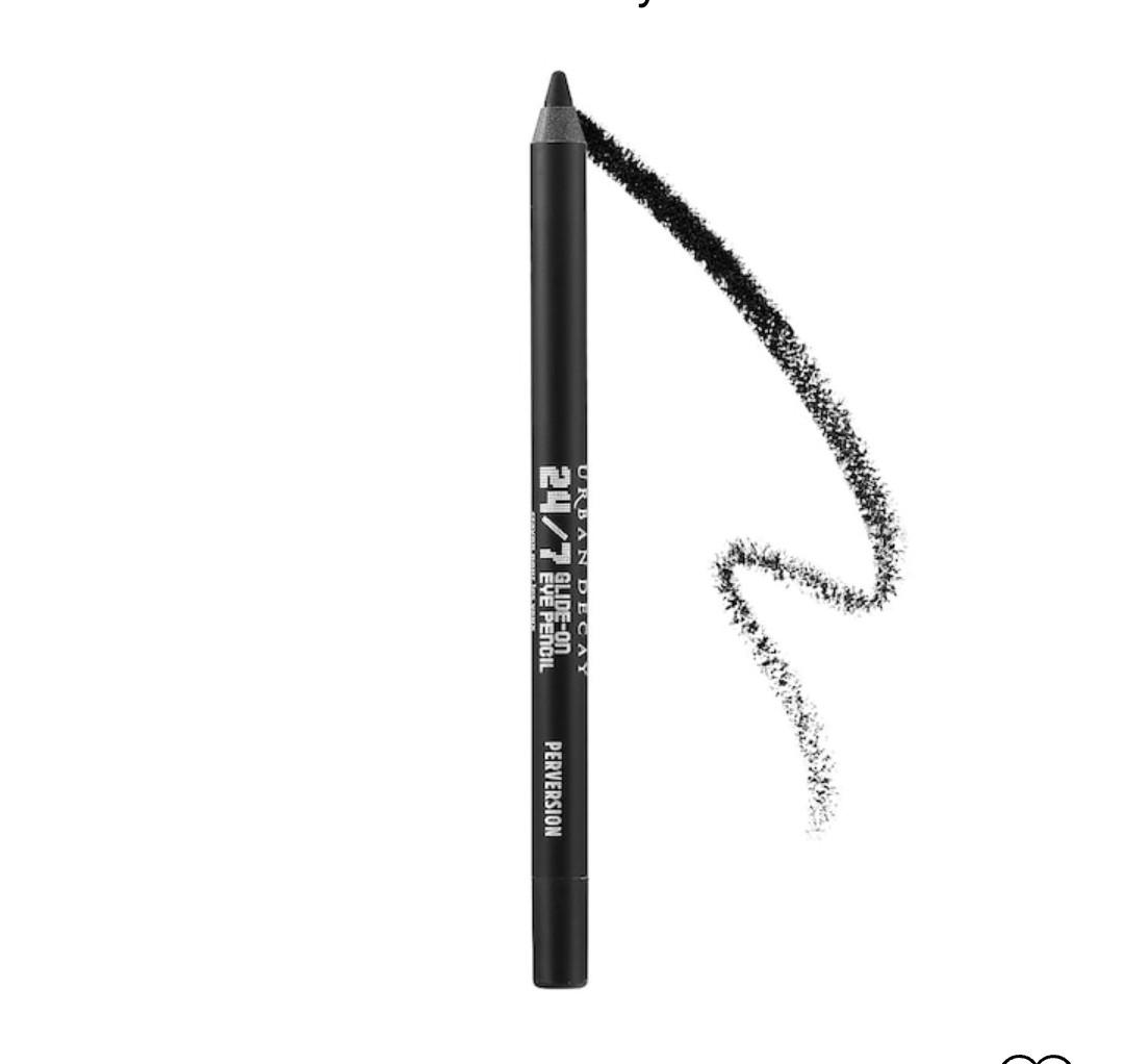 Стійкий олівець для очей Urban Decay 24/7 Glide-On-Eye (колір чорний).