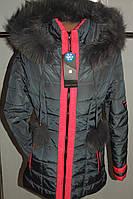 Куртка зимняя женская 42,52 р серая  арт 61 .