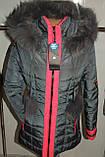 Куртка зимняя женская 42,52 р серая  арт 61 ., фото 2