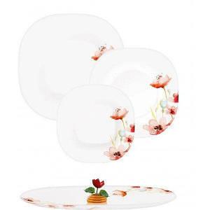 Сервиз столовый 19пр Luminarc Carine Florenza White N2254