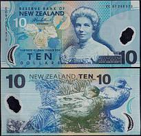 New Zealand / Новая Зеландия - 10 dollars / долларов 2013 UNC Pick 186c