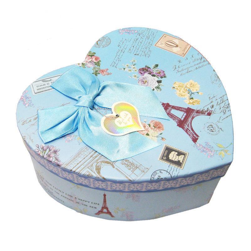 Коробка подарочная ZYJP 21*20*9см 2 вида микс 50317/1
