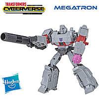 Трансформер Мегатрон, Transformers Megatron Cyberverse Fusion Mace Warrior Class, Hasbro E1904
