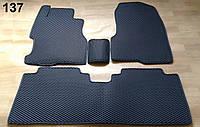 Коврики на Honda Civic VII '01-05, 5-ти дверный хетчбек. Автоковрики EVA