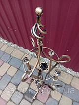 Комплект для камина №6 (Роза). Принадлежности для камина + Стойка + Дровница, фото 3