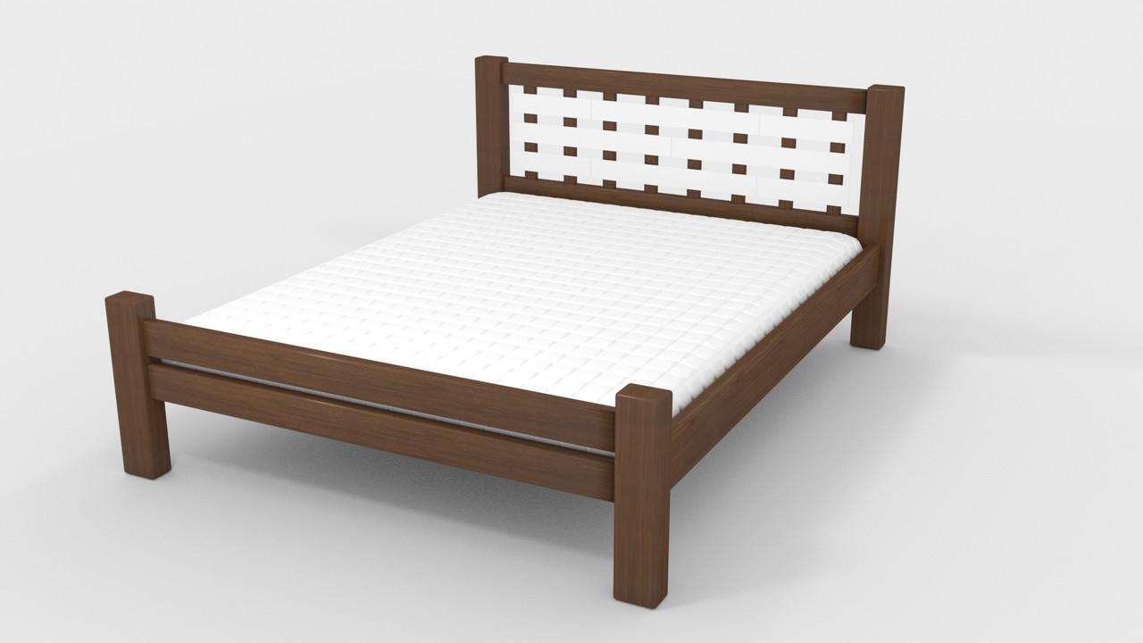 Кровать деревянная Гастия 160 ТМ Mecano (Мекано)