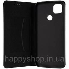 Чехол-книжка Gelius Leather New для Xiaomi Redmi 9C (Черный), фото 2
