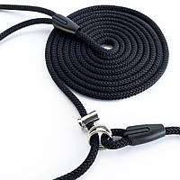 Поводок контроллер 2,5 м черный 6 мм