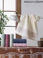 Махровые полотенца оптом Cestepe Vip cotton Regnum Cigdem