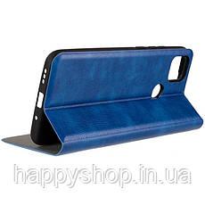 Чехол-книжка Gelius Leather New для Xiaomi Redmi 9C (Синий), фото 3