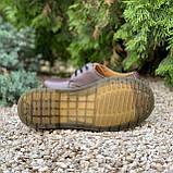 🔥 Туфли женские Dr.Martens 1461 мартинсы коричневые повседневные кожаные дерби, фото 2