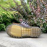 🔥 Туфли женские Dr.Martens 1461 мартинсы коричневые повседневные кожаные дерби, фото 6