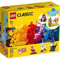 Конструктор LEGO Classic Прозрачные кубики для творчества 500 деталей (11013)