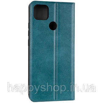 Чехол-книжка Gelius Leather New для Xiaomi Redmi 9C (Зеленый), фото 2