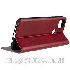 Чехол-книжка Gelius Leather New для Xiaomi Redmi 9C (Красный), фото 3