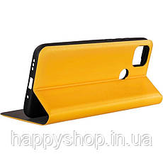 Чехол-книжка Gelius Leather New для Xiaomi Redmi 9C (Желтый), фото 3