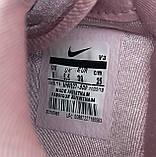 🔥 Кроссовки женские Nike Air Force найк эир форс розовые повседневные спортивные кожаные, фото 5