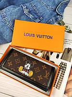 Женский кошелек Louis Vuitton (Луи Витон) МИКИ МАУС