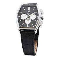Часы наручные Vacheron Constantin (реплика). Цвет: черный ремень, черный циф.