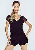 Блузка Adalia Eldar черного цвета, коллекция весна-лето 2021