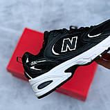 🔥 Кроссовки женские New Balance 530 нью беленс 530 черные повседневные спортивные легкие, фото 5