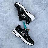 🔥 Кроссовки женские New Balance 530 нью беленс 530 черные повседневные спортивные легкие, фото 8