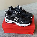 🔥 Кроссовки женские New Balance 530 нью беленс 530 черные повседневные спортивные легкие, фото 10