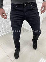 Мужские черные джинсы Shark