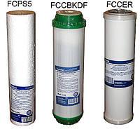 Комплект сменных картриджей для фильтров воды 3шт №2