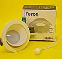 Feron DL8300 белый встраиваемый точечный алюминивый светильник, фото 4