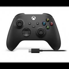 Геймпад Microsoft Xbox Series X   S Wireless Controller Carbon Black + USB-C Cable