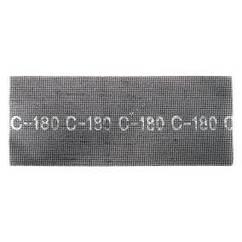 Сетка абразивная 115x280мм, К180, 10ед. INTERTOOL KT-6018