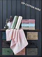 Махровые полотенца оптом Cestepe Vip cotton Sara