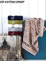 Махровые полотенца оптом Cestepe Vip cotton Sport