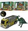 Трейлер 624001-01-02-06 динозавр, 3 види, муз., світло, бат.(таб.), кор., 31-20-13см., шт