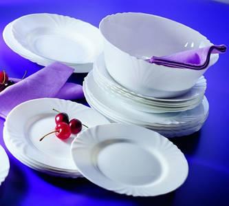 Сервиз столовый Luminarc CADIX 19 пр. (гл.суп.тарелка) (L0300)